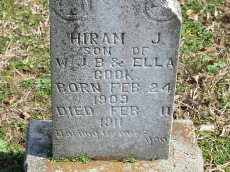 COOK, HIRAM J. - Greene County, Arkansas | HIRAM J. COOK - Arkansas Gravestone Photos