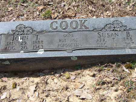 COOK, JOHN T. - Greene County, Arkansas | JOHN T. COOK - Arkansas Gravestone Photos
