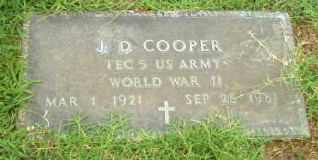 COOPER  (VETERAN WWII), J.D. - Greene County, Arkansas | J.D. COOPER  (VETERAN WWII) - Arkansas Gravestone Photos