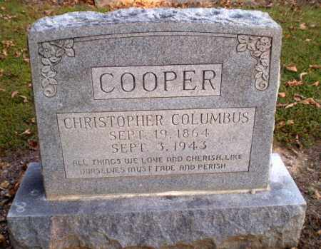 COOPER, CHRISTOPHER COLUMBUS - Greene County, Arkansas | CHRISTOPHER COLUMBUS COOPER - Arkansas Gravestone Photos