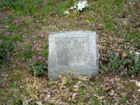 COOPER, JACOB HALEY - Greene County, Arkansas | JACOB HALEY COOPER - Arkansas Gravestone Photos