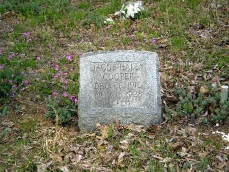 COOPER, JACOB HALEY - Greene County, Arkansas | JACOB HALEY COOPER - Arkansas Gravestone Photos