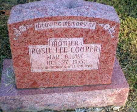 COOPER, ROSIE LEE - Greene County, Arkansas | ROSIE LEE COOPER - Arkansas Gravestone Photos