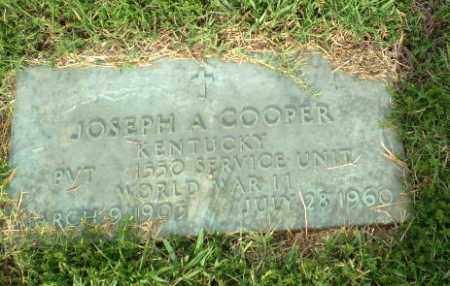 COOPER (VETERAN WWII), JOSEPH A - Greene County, Arkansas | JOSEPH A COOPER (VETERAN WWII) - Arkansas Gravestone Photos