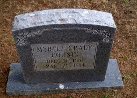 COUNTS, MYRTLE - Greene County, Arkansas | MYRTLE COUNTS - Arkansas Gravestone Photos