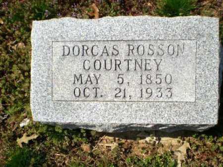 COURTNEY, DORCAS ROSSON - Greene County, Arkansas | DORCAS ROSSON COURTNEY - Arkansas Gravestone Photos