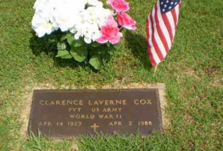 COX (VETERAN WWII), CLARENCE LAVERNE - Greene County, Arkansas | CLARENCE LAVERNE COX (VETERAN WWII) - Arkansas Gravestone Photos