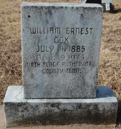 COX, WILLIAM ERNEST - Greene County, Arkansas | WILLIAM ERNEST COX - Arkansas Gravestone Photos
