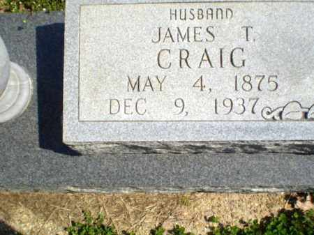 CRAIG, JAMES T - Greene County, Arkansas | JAMES T CRAIG - Arkansas Gravestone Photos