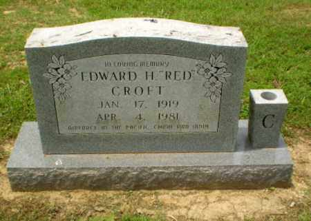 "CROFT, EDWARD H ""RED"" - Greene County, Arkansas 