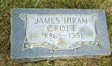 CROFT, JAMES HIRAM - Greene County, Arkansas | JAMES HIRAM CROFT - Arkansas Gravestone Photos