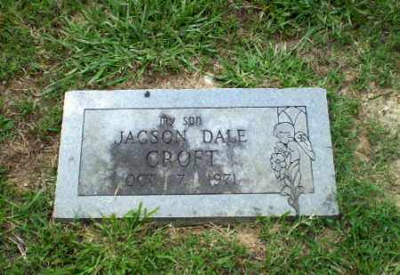 CROFT, JACKSON DALE - Greene County, Arkansas | JACKSON DALE CROFT - Arkansas Gravestone Photos