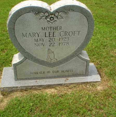 CROFT, MARY LEE - Greene County, Arkansas | MARY LEE CROFT - Arkansas Gravestone Photos