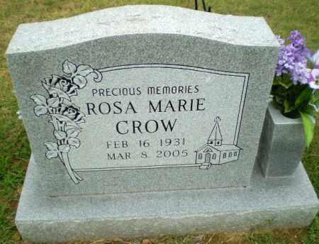 CROW, ROSA MARIE - Greene County, Arkansas | ROSA MARIE CROW - Arkansas Gravestone Photos