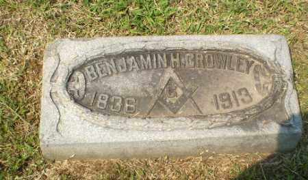 CROWLEY, BENJAMIN H - Greene County, Arkansas | BENJAMIN H CROWLEY - Arkansas Gravestone Photos
