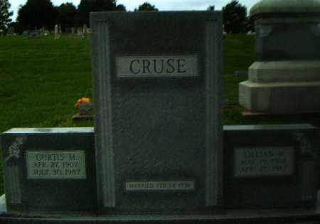 CRUSE, CURTIS M - Greene County, Arkansas | CURTIS M CRUSE - Arkansas Gravestone Photos
