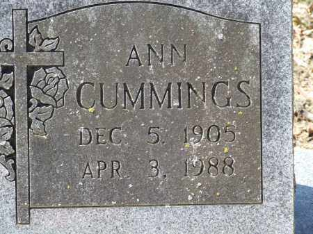CUMMINGS, ANN - Greene County, Arkansas | ANN CUMMINGS - Arkansas Gravestone Photos