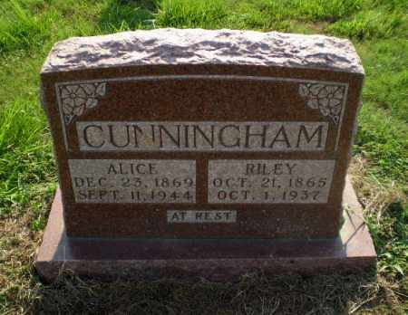 CUNNINGHAM, RILEY - Greene County, Arkansas | RILEY CUNNINGHAM - Arkansas Gravestone Photos