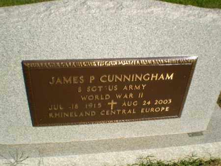 CUNNINGHAM (VETERAN WWI), JAMES P - Greene County, Arkansas | JAMES P CUNNINGHAM (VETERAN WWI) - Arkansas Gravestone Photos