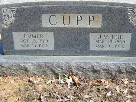 CUPP, J. M. (ROE) - Greene County, Arkansas | J. M. (ROE) CUPP - Arkansas Gravestone Photos