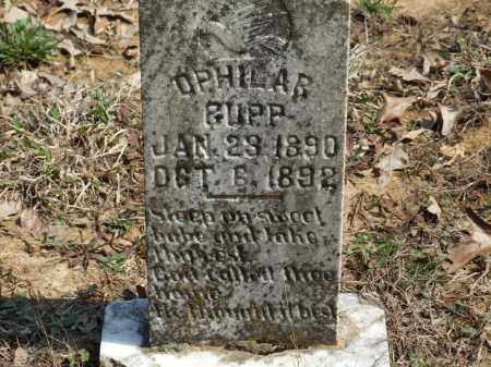 CUPP, OPHILAR - Greene County, Arkansas | OPHILAR CUPP - Arkansas Gravestone Photos