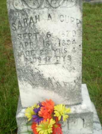 CUPP, SARAH A - Greene County, Arkansas | SARAH A CUPP - Arkansas Gravestone Photos