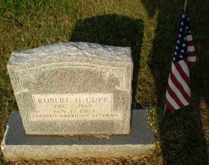 CUPP (VETERAN SAW), ROBERT H - Greene County, Arkansas | ROBERT H CUPP (VETERAN SAW) - Arkansas Gravestone Photos