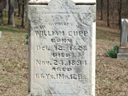 CUPP, WILLIAM - Greene County, Arkansas | WILLIAM CUPP - Arkansas Gravestone Photos
