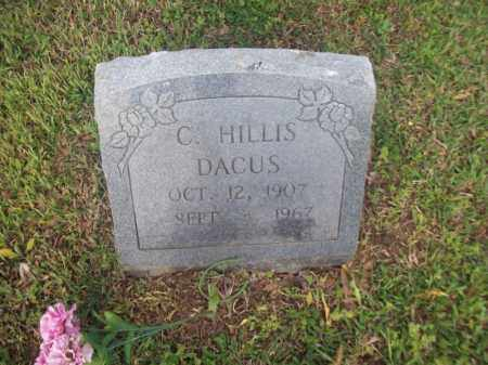 DACUS, CECIL HILLIS - Greene County, Arkansas | CECIL HILLIS DACUS - Arkansas Gravestone Photos