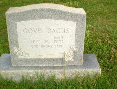 DACUS, GOVE - Greene County, Arkansas | GOVE DACUS - Arkansas Gravestone Photos