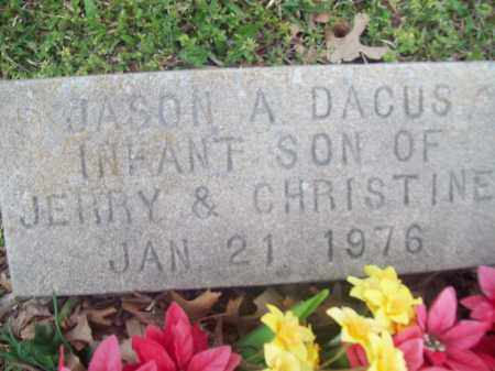 DACUS, JASON A. - Greene County, Arkansas | JASON A. DACUS - Arkansas Gravestone Photos