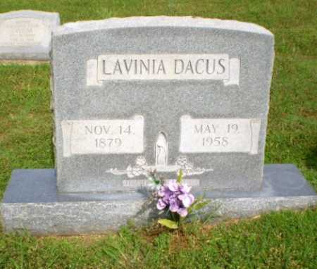 DACUS, LAVINIA - Greene County, Arkansas | LAVINIA DACUS - Arkansas Gravestone Photos