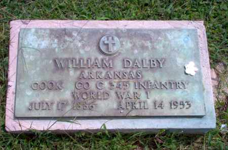 DALBY  (VETERAN WWI), WILLIAM - Greene County, Arkansas | WILLIAM DALBY  (VETERAN WWI) - Arkansas Gravestone Photos