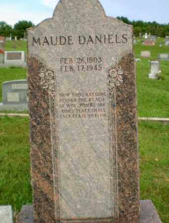DANIELS, MAUDE - Greene County, Arkansas | MAUDE DANIELS - Arkansas Gravestone Photos