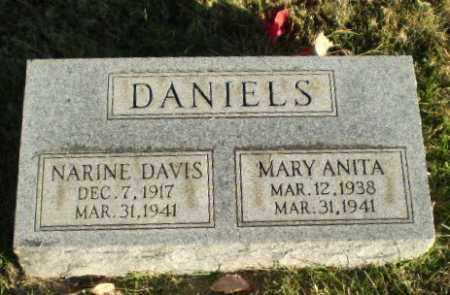 DANIELS, NARINE - Greene County, Arkansas | NARINE DANIELS - Arkansas Gravestone Photos