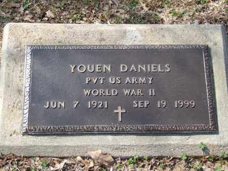 DANIELS (VETERAN WWII), YOUEN - Greene County, Arkansas | YOUEN DANIELS (VETERAN WWII) - Arkansas Gravestone Photos