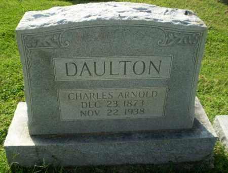 DAULTON, CHARLES ARNOLD - Greene County, Arkansas | CHARLES ARNOLD DAULTON - Arkansas Gravestone Photos