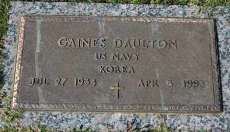 DAULTON (VETERAN KOR), GAINES - Greene County, Arkansas | GAINES DAULTON (VETERAN KOR) - Arkansas Gravestone Photos