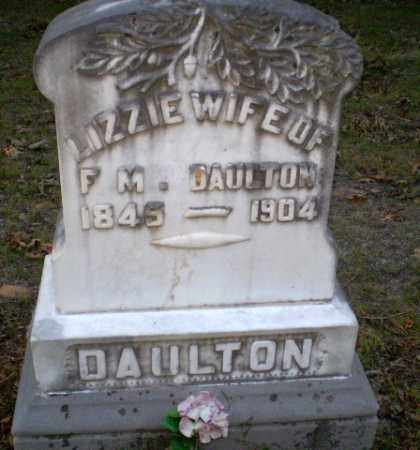 DAULTON, LIZZIE - Greene County, Arkansas | LIZZIE DAULTON - Arkansas Gravestone Photos