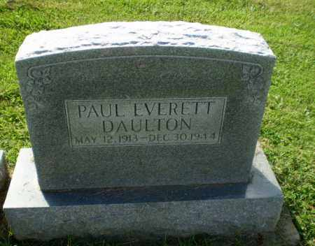 DAULTON, PAUL EVERETT - Greene County, Arkansas | PAUL EVERETT DAULTON - Arkansas Gravestone Photos