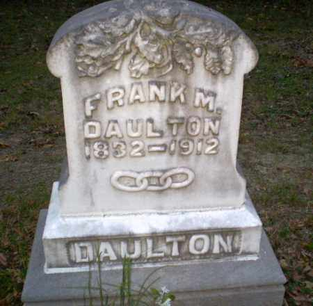 DAULTON (VETERAN CSA), FRANK M - Greene County, Arkansas | FRANK M DAULTON (VETERAN CSA) - Arkansas Gravestone Photos