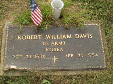 DAVIS  (VETERAN KOR), ROBERT WILLIAM - Greene County, Arkansas | ROBERT WILLIAM DAVIS  (VETERAN KOR) - Arkansas Gravestone Photos