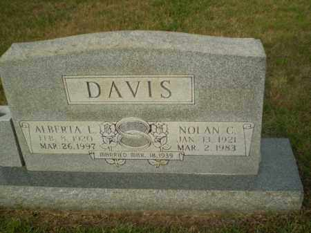 DAVIS, NOLAN C - Greene County, Arkansas | NOLAN C DAVIS - Arkansas Gravestone Photos