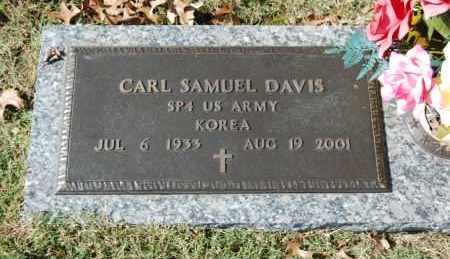 DAVIS (VETERAN KOR), CARL SAMUEL - Greene County, Arkansas | CARL SAMUEL DAVIS (VETERAN KOR) - Arkansas Gravestone Photos