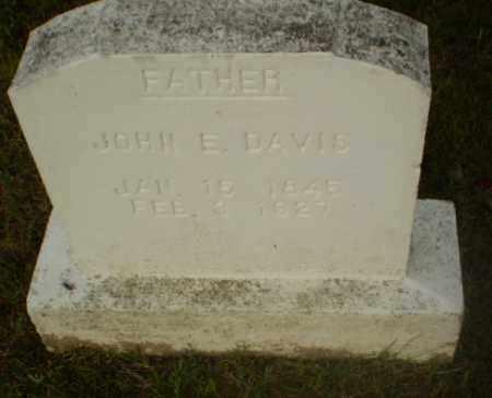 DAVIS, JOHN E - Greene County, Arkansas | JOHN E DAVIS - Arkansas Gravestone Photos