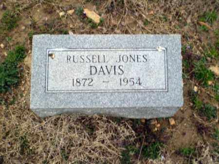 DAVIS, RUSSELL JONES - Greene County, Arkansas | RUSSELL JONES DAVIS - Arkansas Gravestone Photos