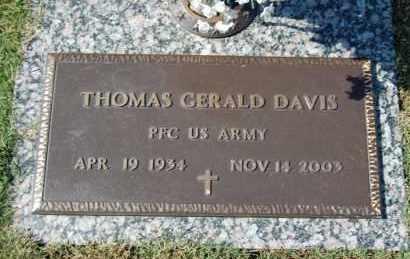 DAVIS (VETERAN), THOMAS GERALD - Greene County, Arkansas | THOMAS GERALD DAVIS (VETERAN) - Arkansas Gravestone Photos
