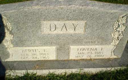 DAY, LOVENA E - Greene County, Arkansas | LOVENA E DAY - Arkansas Gravestone Photos