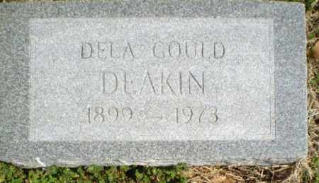DEAKIN, DELA GOULD - Greene County, Arkansas | DELA GOULD DEAKIN - Arkansas Gravestone Photos