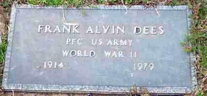 DEES  (VETERAN WWII), FRANK ALVIN - Greene County, Arkansas | FRANK ALVIN DEES  (VETERAN WWII) - Arkansas Gravestone Photos